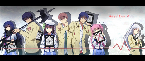 Maybe In this anime.....If i would die, I'm still enjoying my life breaking out rules to never disappear, plus cool weapons like kanade have?... my Death would be perfect!!! 앤젤 beats<3..