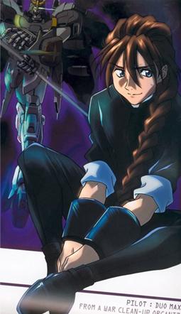 Duo Maxwell from Gundam Wing.