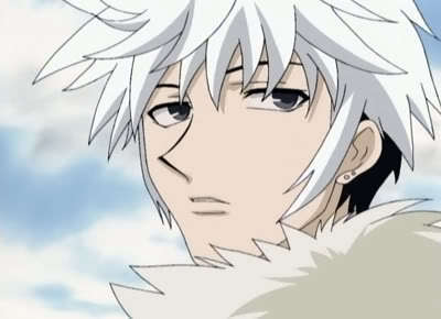 Hatsuharu Sohma from Fruits Basket. Hey, it's partially white, so it counts, right?