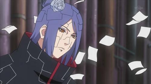 Konan (Naruto Shippuden) ? :)