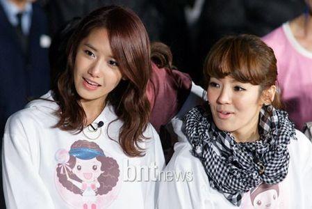 Yoona and Hyoyeon