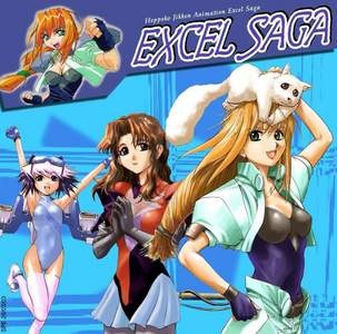Excel Saga It's the animé that Hetalia wishes it could be. In every single aspect that Hetalia epically fails at (story, comedy, characters, animation, etc.), Excel Saga epically succeeds.