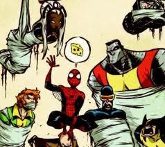 yes it would be cool web and the x men have a past haha