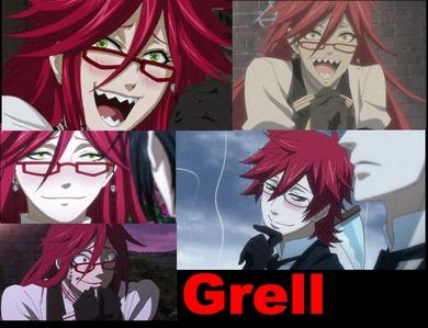 আরো then one blushing GRELL!