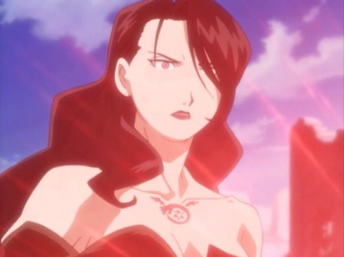I don't know exactly what kind of FMA pic you're looking for, so here, have Lust. :P