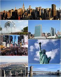 I live in New York City.I live in one of those big buildings and whoever hasn't been there anda should go there because it's a blast!