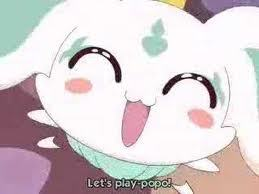 I just HAD to post this picture of: Porun from pretty cure :D