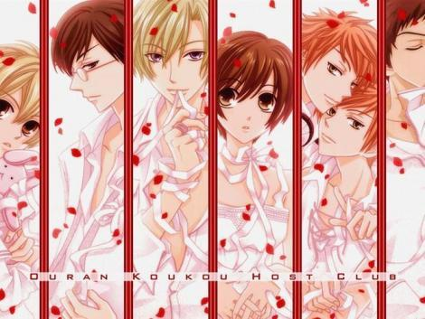 Ouran Highschool Host Club. It's the best ever.