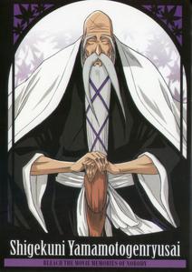 Yamamoto Genryuusai from Bleach