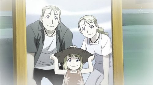 Winry Lost both parents in the Isbalan Civil War