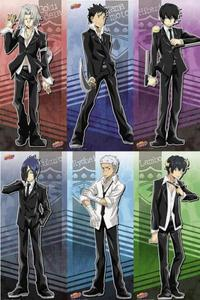 The Guardians from Vongola Famiglia from KHR!<3