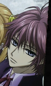 Senri Shiki_vampire knight_ I don't know why but I've always thought his hair glacière is odd. I just can't diside if it is a natural hair glacière ou not too...