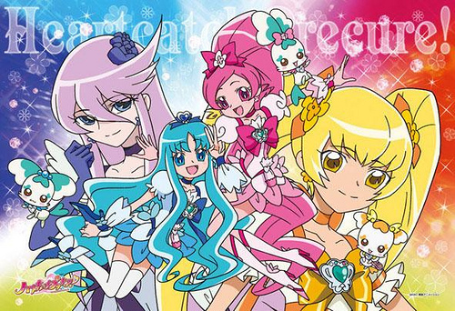 HeartCatchPrecure!Almost nobody talks about it i know it's a little bit corny but it's a great anime!