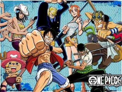 One Piece Other than that is Bleach,Fairy Tail and what else??? I forgot,,hahaha