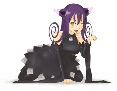 Blair the cat from Soul Eater