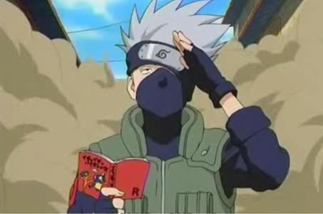 The only cartoon/anime character I like is kakashi from Naruto.