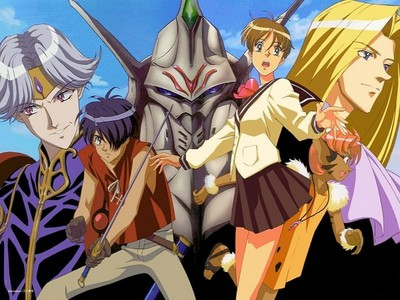 I'm about to start my first 日本动漫 for the summer and I'm very excited. It's called [B]The Vision of Escaflowne[/b] my friend on here has been wanting me to watch it for awhile now. So far none of the animes coming out this summer have caught my attention.. They sound boring but who knows.. Maybe I'll end up trying some of them. :) If anyone has suggestions I'm all ears. I can't handle gore though, blame my weak stomach. :C