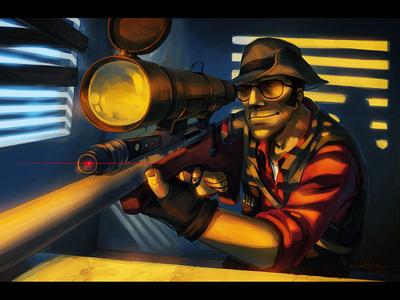 [b][i]The Sniper from TF2.[/b][/i]