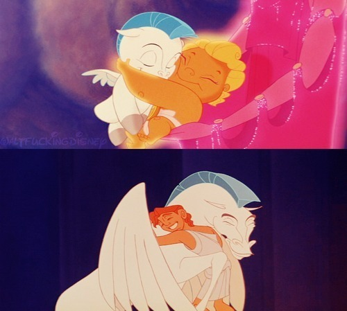 Some epic GIF's. .3. Baby Pegasus from Hercules; http://weheartit.com/entry/29910083 http://weheartit.com/entry/29848187 Funny Pegasus from Herules; http://weheartit.com/entry/29909321