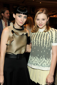 Rooney Mara and Chloe Moretz. I'm convinced that these two young mga aktres could play almost anyone. They have such raw talent! Saoirse Ronan too. Though I don't have a photograph of all three. I was thinking that Rooney could play Re-l from Ergo Proxy.