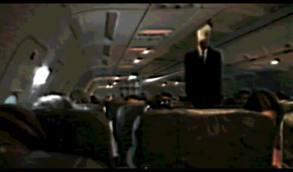 Slendy on a plane! :D