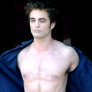 My pic of Rob shirtless.