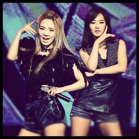 i think YURI and HYOYEON