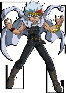 ryuga!!!!!!!! er he laughs like a hyena that has a cold!!!!!!!!!