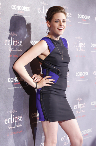 Kristen with black nail polish :)