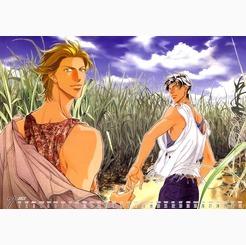 the haru wo daiteita world simply because i'd 사랑 to live in the same world as kato-san and iwaki-san