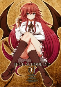 Rias Gremory from highschool DXD