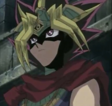 Yugi-boy and The Anonymous Pharaoh  from Yu-Gi-Oh! of course!