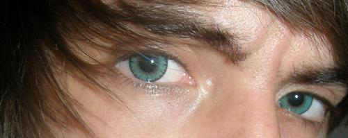 Here is a picture of my eyes. XD But really, I have pictures of me on here. :\ I don't know why lol.