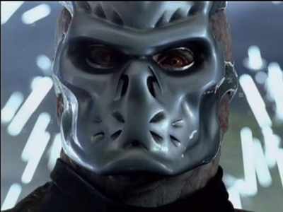 Jason X! He looks so creepy with that hockey mask. And I'm terrified of machetes!