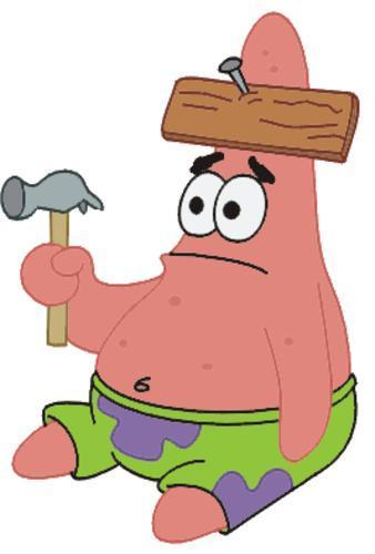 MAY I TAKE YOUR HAT SIR?- Patrick from spongebob.