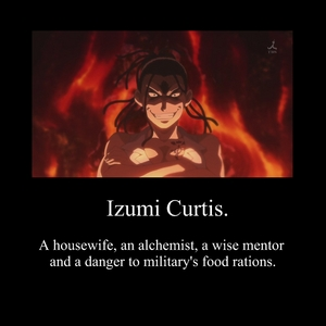 I think of Izumi Curtis. The best teacher in the world.