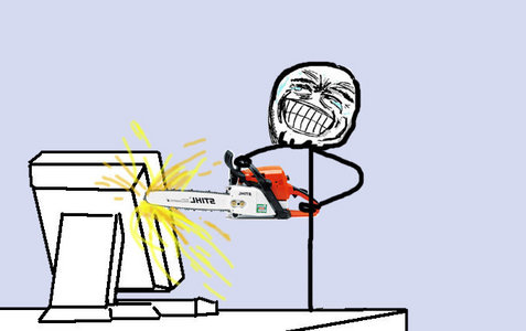 when the computer shuts down AAAAAWWWWWWGGGGHHHHHHHHHH !!