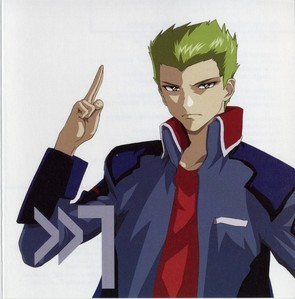 Sting Oakley from Mobile Suit Gundam seed Destiny