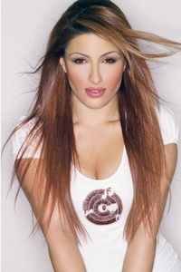 Her name is Helena Paparizou, and she's very famous here in Greece.