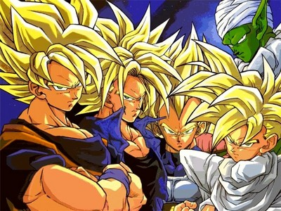 Dragon ball z of coarse! I use to be obsessed with the series. I would ask for dragon ball z toys, tapes, and games on every special occasion. I loved it when I was 4-7. Now I watch it sometimes.