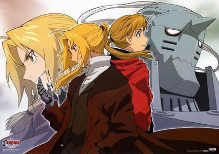 My first real anime, that I knew was 'anime'. Fullmetal Alchemist <3