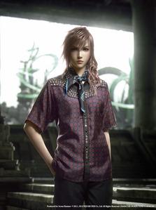 Lightning Farron ;3 Most badass, sexy female with light kulay-rosas hair <3...in Prada!