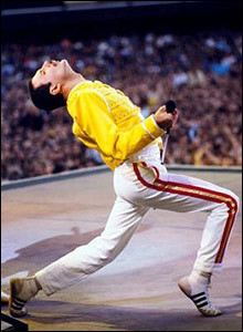 Well.. everything. His voice most of all, his voice is so strong and awesome.. also his personality, his courage.. the fact that he always gave his all, he's been so brave, untill his last day he was creating, giving...