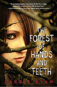 1) The Forest of Hands and Teeth द्वारा Carrie Ryan. 2) Horror/Suspense 3)9/10 4) It's mainly about zombies!
