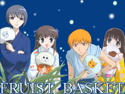 My first anime was fruits basket. it was awesome, but could've used another season...