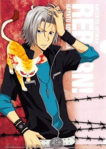 Gokudera is a mega hottie! Kya~!!! He's MINE! MINE! MINE! MINE! XD <3 <3 <3