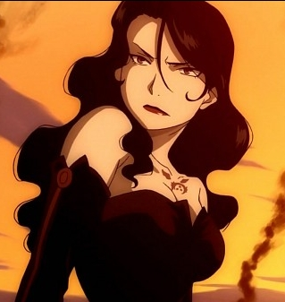 Lust-san from FMA..Well there were times where she was and times where she wasn't a villain..but for the most part she's just amazing and she's a great character XD that's why I like her :p