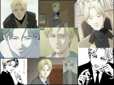 Johan Liebert from MONSTER 1. He doesn't look like a Villain so he easily get his way, he can trick people, then he kills them 2. Hes not completely heartless, he shows mercy to a few 3. He doesn't even have to pick up a finger to get people to obey him, even kill them self and hes has no magical powers. Hes human 4. He has a dark past, he has a reason to be evil 5.He has a twin sister, who is the complete opposite, they have almost the same past. It shows how two people who share a past can turn out different