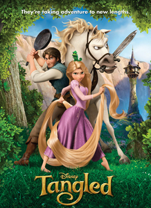 i am a boy but Tangled has always been my favourite since we saw it like three times,now i have seen it like 30 times!! the movie is quite funny and Cinta the songs.=)