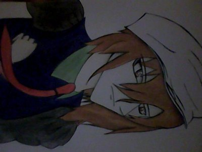 this has not been photoshoped i draw this when i had free time i started watching 日本动漫 2 years 以前 and have draw 日本动漫 character sints then i have many other pic's like this one but this it my lattist one so far... oh and i thank that your pic is great and 你 r a good drawer :)
